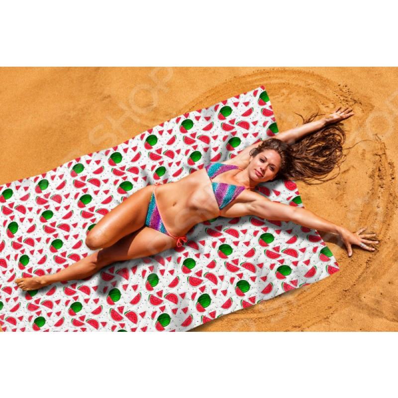 Покрывало пляжное Сирень «Арбузный фреш»