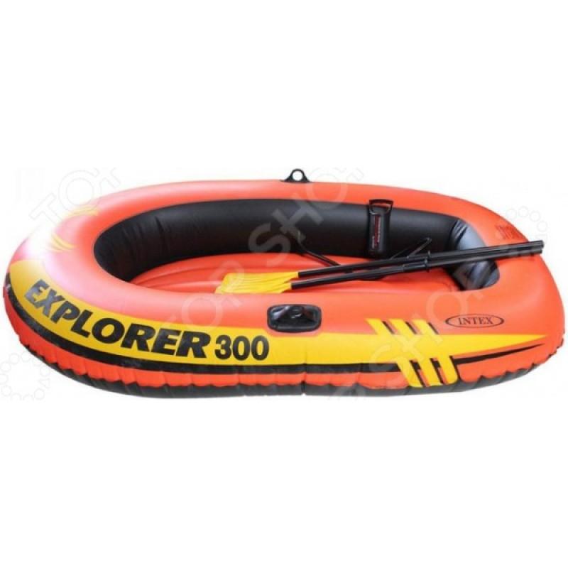 Лодка надувная Intex Explorer Pro 300 58332NP
