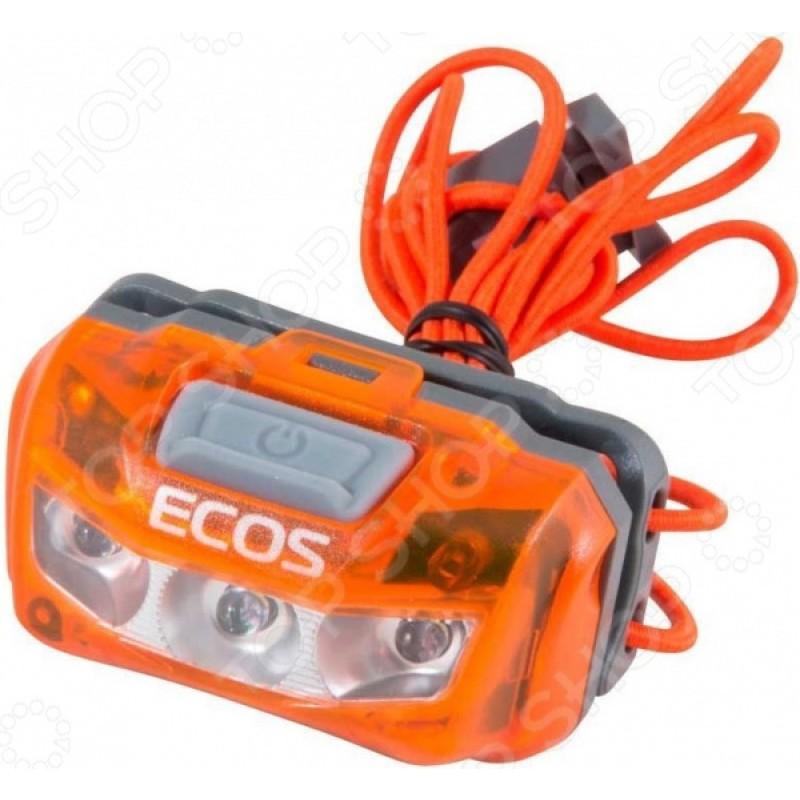 Фонарь налобный Ecos FLHB6006