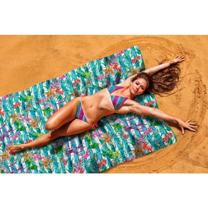 Покрывало пляжное Сирень «Морской бриз»