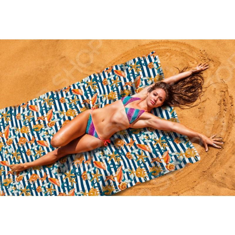 Покрывало пляжное Сирень «Морские приключения»