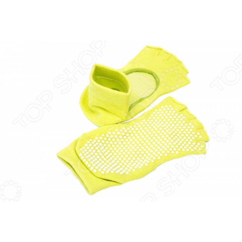 Носки противоскользящие Bradex с открытыми пальцами и подъемом