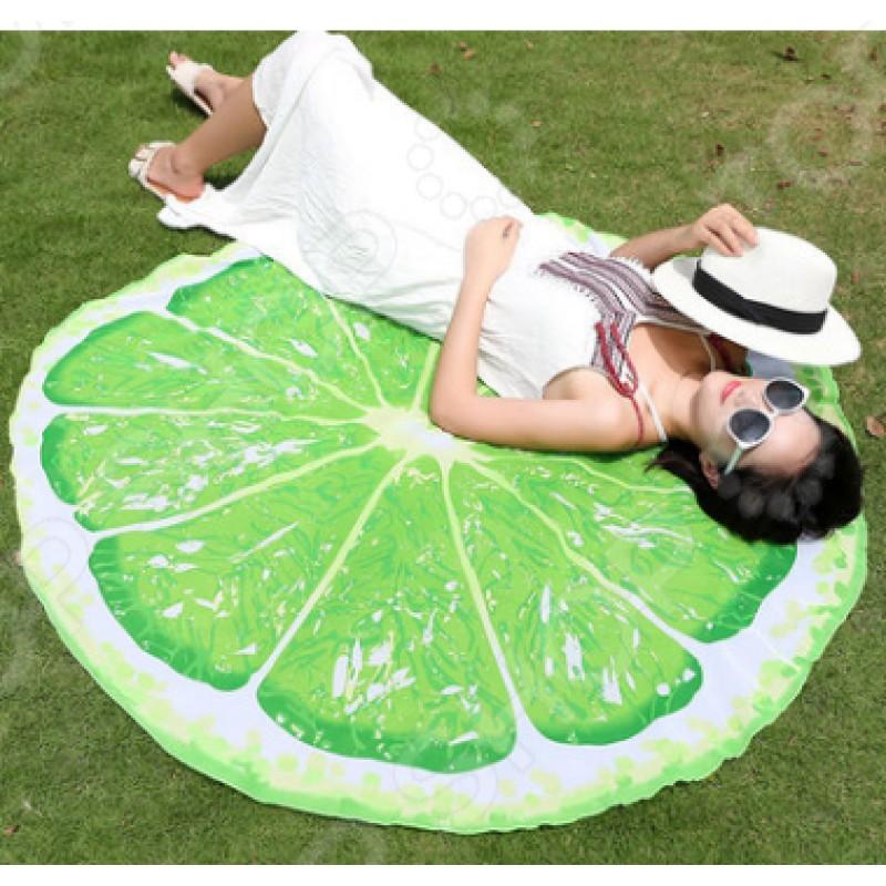 Покрывало-парео пляжное Beach Towel «Лайм»
