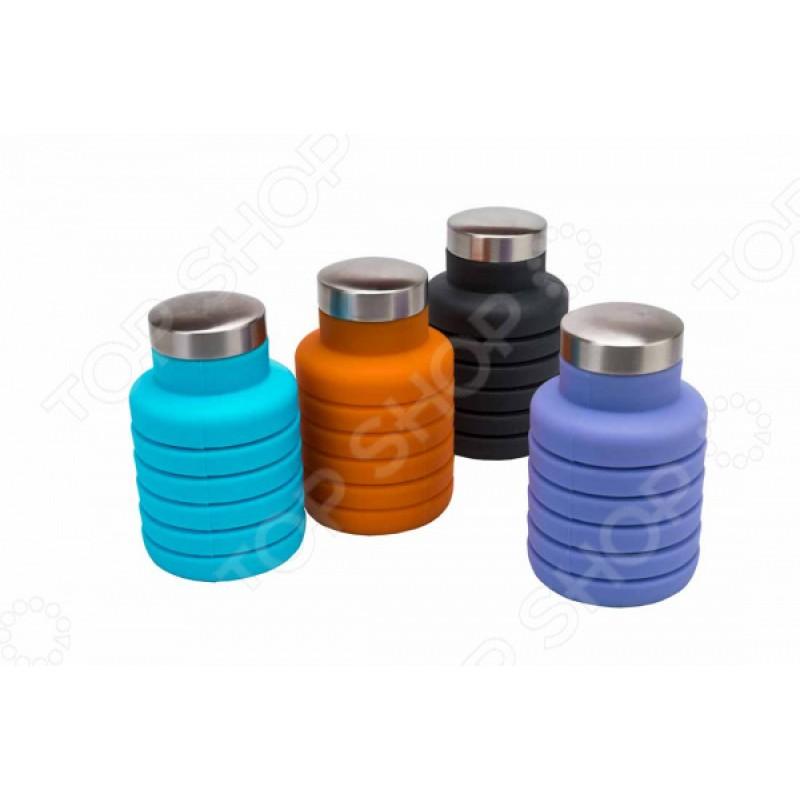Бутылка для воды Bradex складная