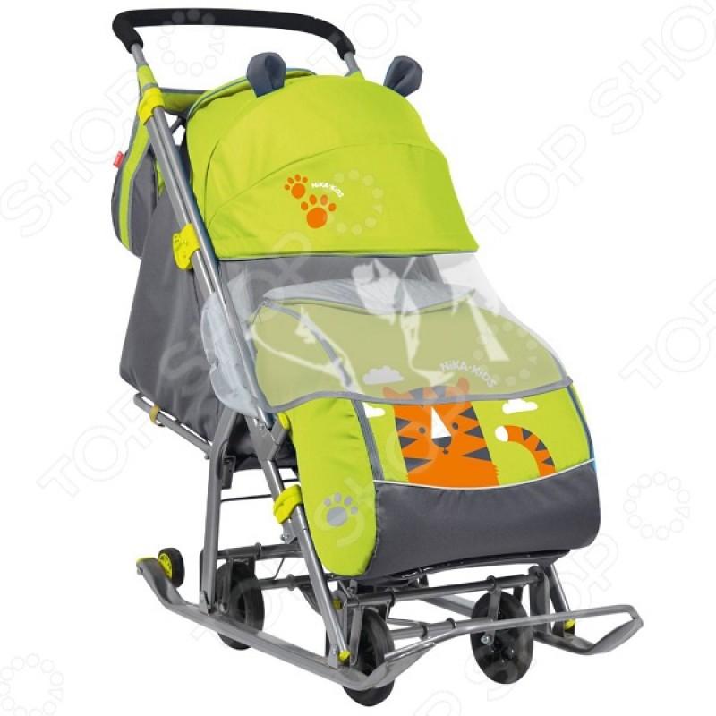 Санки-коляска Ника «Детям 7» (НД-7)
