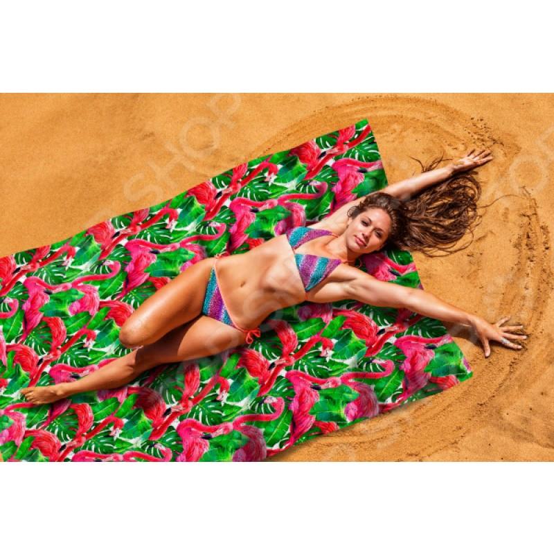 Покрывало пляжное Сирень «Фламинго»